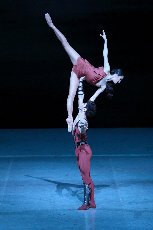 "Korean National Ballet performs Khachaturian's ""Spartacus."" (Korean National Ballet)"