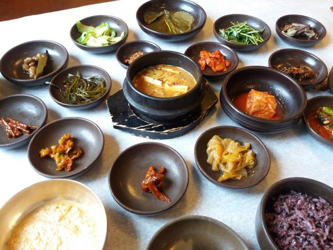 Vegetarian jeongsik at Seoil Farm restaurant Solee (Christine Cho)