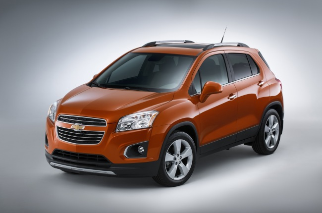 The 2016 Chevrolet Trax