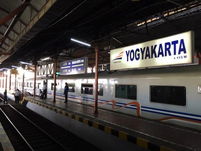 Yokyakarta Train Station. (Ock Hyun-ju/The Korea Herald)