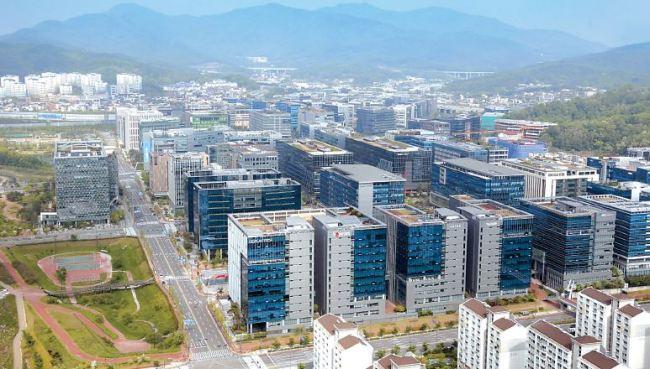 Pangyo Techno Valley in Seongnam, Gyeonggi Province (Yonhap)