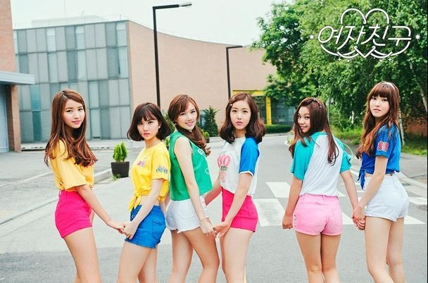 K-pop group GFriend (Source Music)
