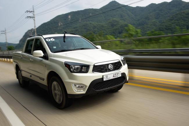 The Korando Sports 2.2 / Ssangyong Motor