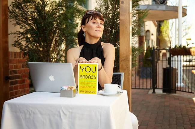 Author and life coach Jen Sincero (Official Facebook)