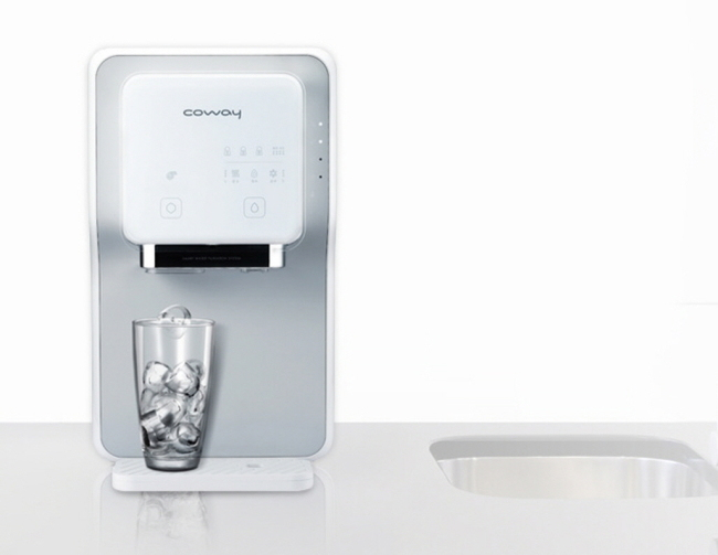 Coway's ice water purifier. Nickel was detected in water from some of its products.