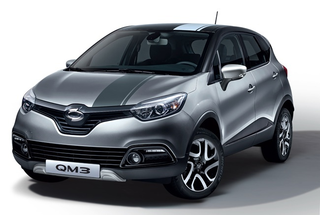 Special edition of Renault Samsung's QM3