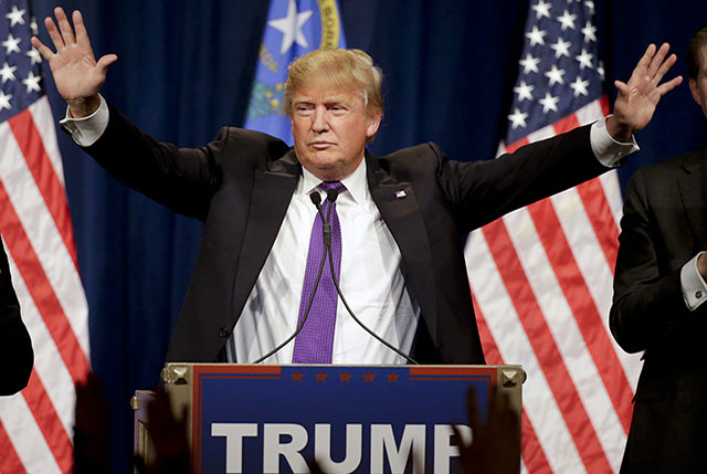 U.S. Republican presidential nominee Donald Trump (AP / Yonhap)