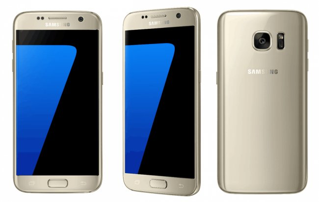 Samsung Galaxy S7. The Korean tech giant is increasingly adopting OLED display for its premium and budget smartphones.