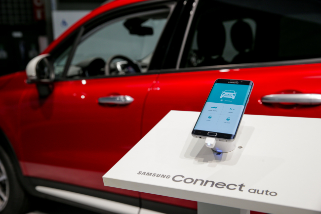Samsung's smart car solution Samsung Connect Auto will be supplied to US telecom giant AT&T from August.