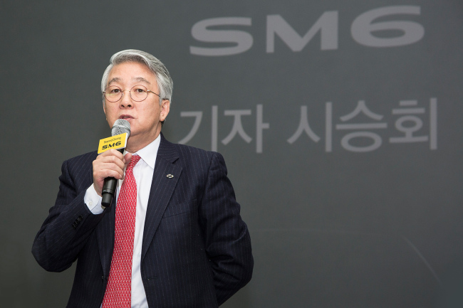 Former CEO of Volkswagen Korea Park Dong-hoon now heads Renault Samsung Motors as chief executive. / The Investor