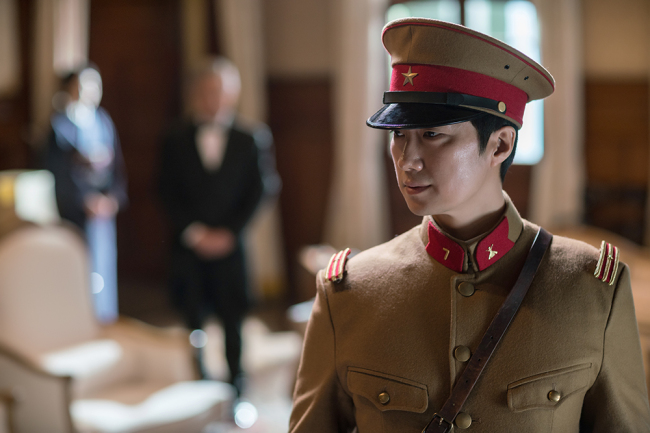"Actor Park Hae-il stars in ""The Last Princess."" (Lotte Entertainment)"