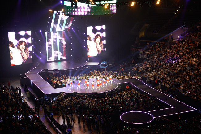 A K-pop concert takes place Sunday at the Staples Center in Los Angeles, California, as part of KCON 2016 hosted by the CJ Group. (CJ Group)