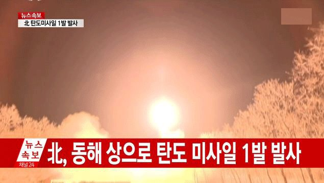 NKorea fires ballistic missile into the sea, says South