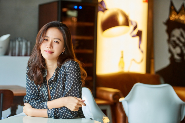"Actress Son Ye-jin poses for photos prior to press interviews on Aug. 1-3 for her recent film ""Last Princess."" (Younghwain)"