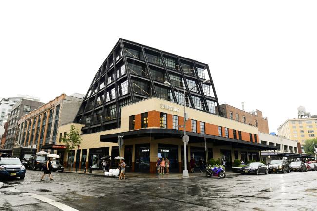 Samsung Electronics' U.S. marketing center Samsung 837 at 837 Washington Street in New York (Kim Young-won/The Investor)