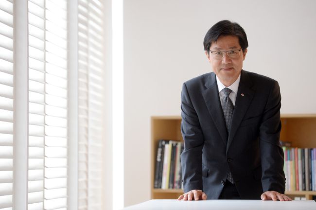 Korea Foundation president Lee Si-hyung (Ahn Hoon/The Korea Herald)