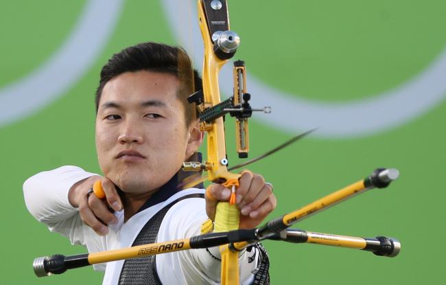 South Korean archer Ku Bon-chan (Yonhap)