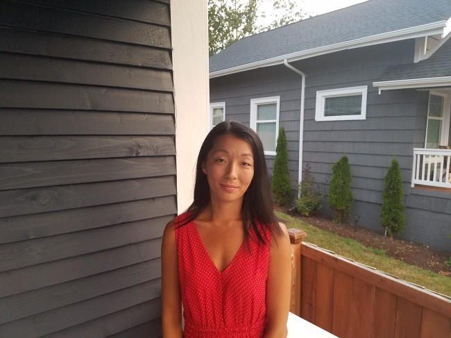 Kyung Eun Davidson, the first Korean adoptee to have found her birth mother through the DNA matching service provided by 325Kamra. (Kyung Eun Davidson)