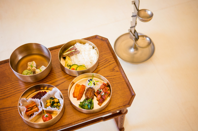 Samples of Joseon royal cuisine (The Cultural Heritage Administration)