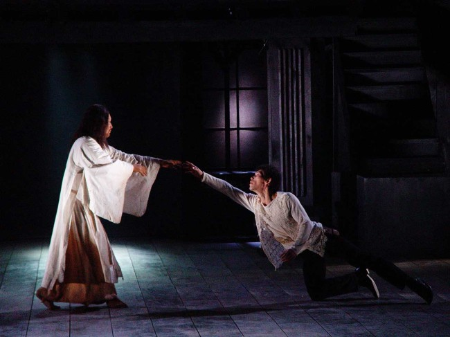 A scene from director Lee Yoon-taek`s rendition of the Shakespeare classic