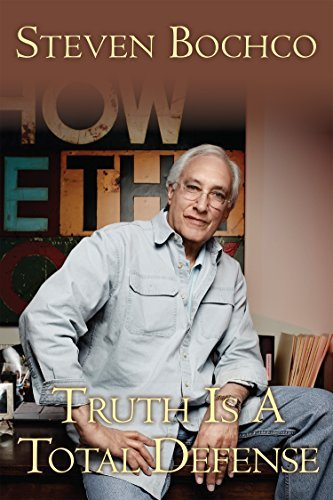 "Cover of Steven Bochco's memoir ""Truth Is a Total Defense: My Fifty Years in Television"" (CreateSpace Independent Publishing Platform)"