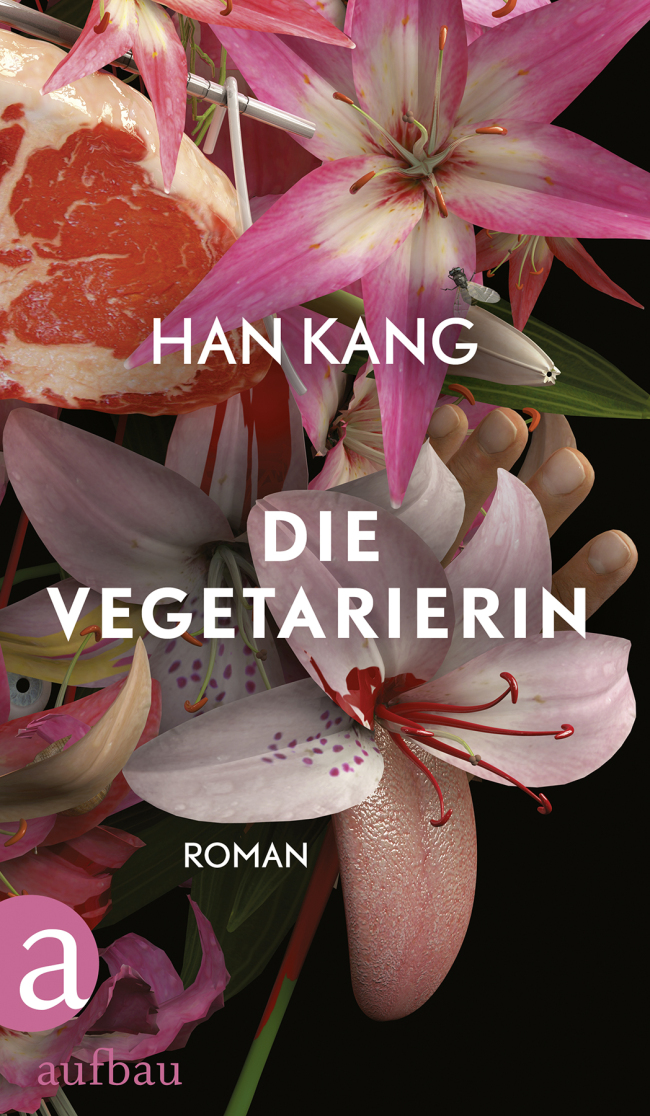 "Cover of German edition of Han Kang's ""The Vegetarian"""