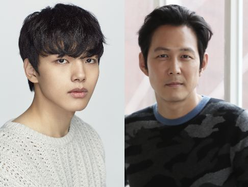 Actors Yeo Jin-goo (left) and Lee Jung-jae (Fox International Productions)