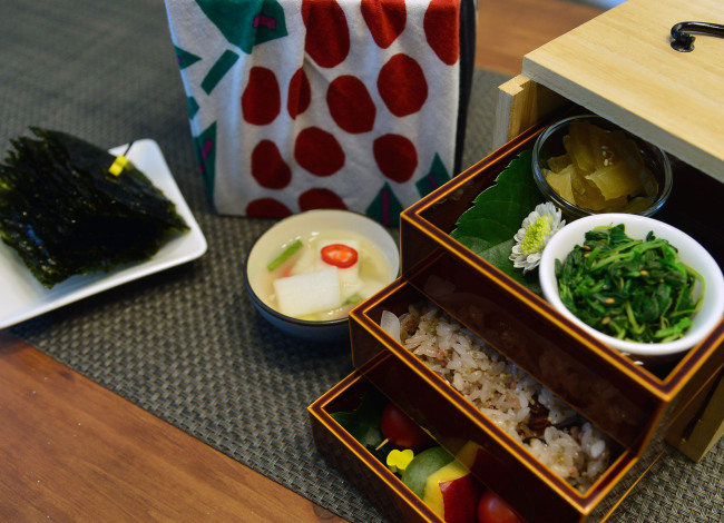 Atelier DoSuHyang serves set lunches that need to be reserved a day in advance (Photo credit: Yoon Byung-chan/The Korea Herald)