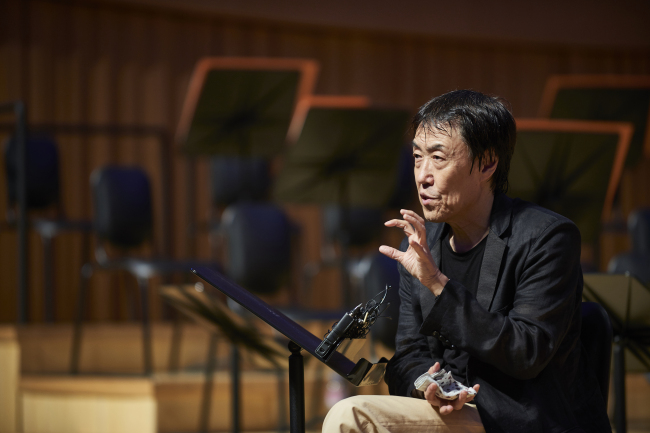 Music director and chief conductor of the Korean Symphony Orchestra, Lim Hun-joung (Lotte Concert Hall)