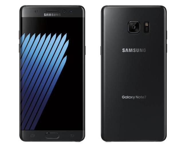 'Onyx Black' Galaxy Note 7