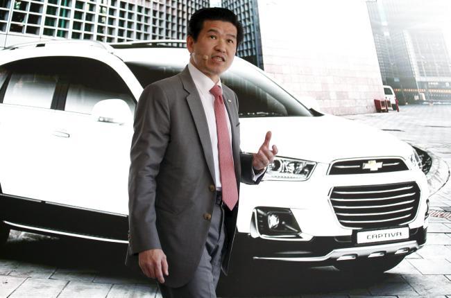 GM Korea CEO James Kim