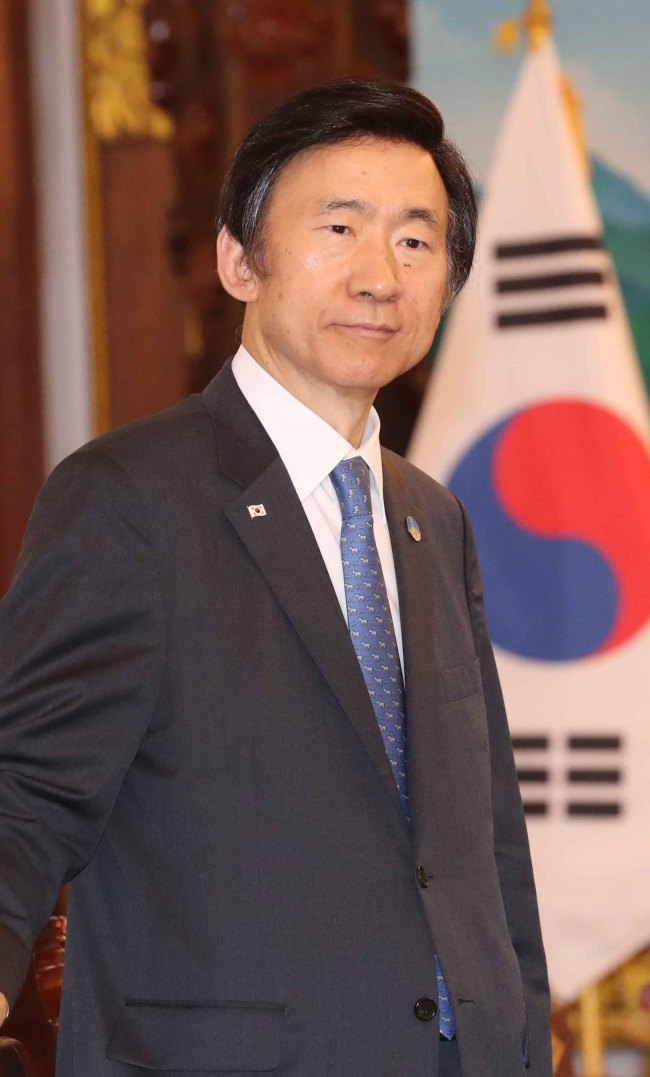 South Korea's Foreign Minister Yun Byung-se will discuss the North's threat with his US and Japanese counterparts. (Yonhap)
