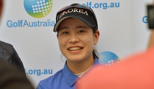 Park Min-ji (www.golf.org.au)