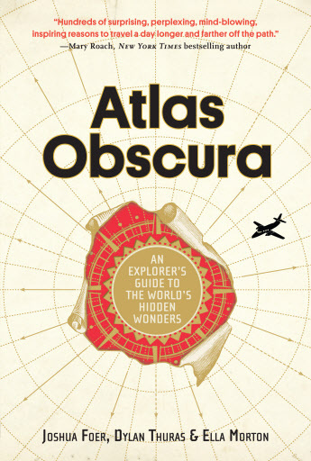 "Cover of ""Atlas Obscura"" (AP-Yonhap)"