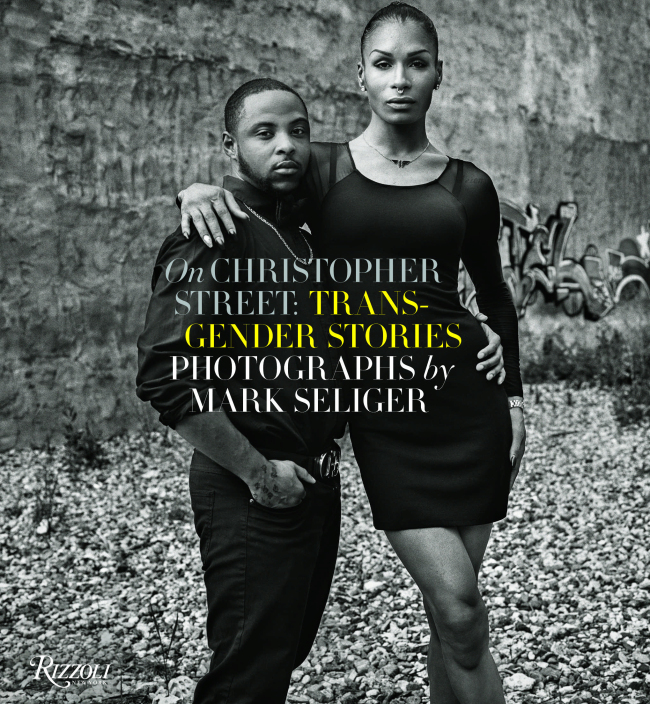 """This cover image released by Rizzoli shows """"On Christopher Street: Transgender Stories,"""" by Mark Seliger. (AP-Yonhap)"""
