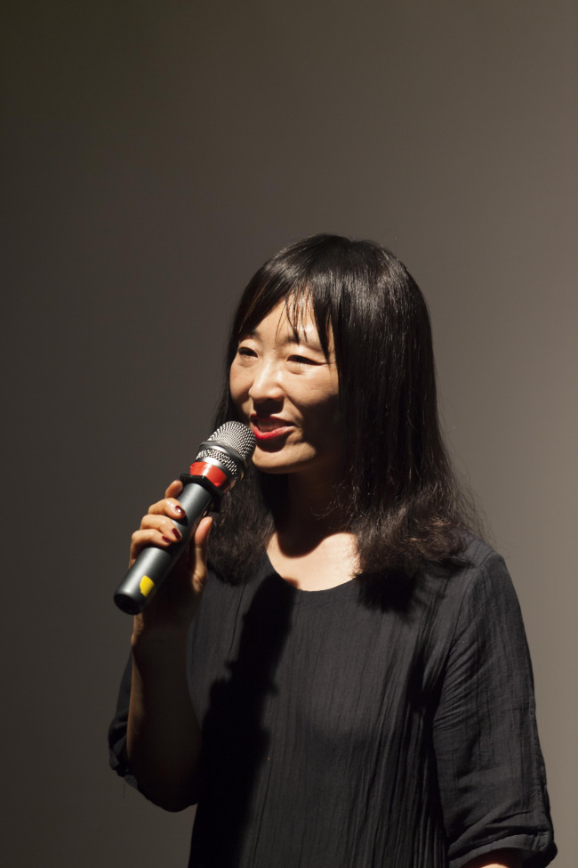 Korean novelist Bae Su-ah (Literature Translation Institute of Korea)
