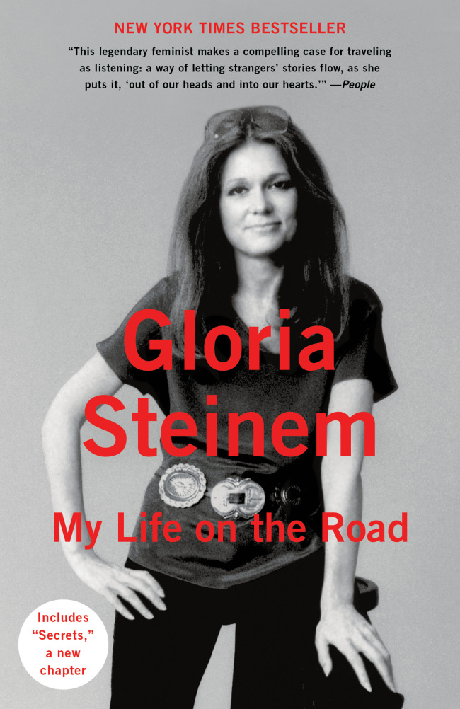 """""""My Life on the Road"""" by Gloria Steinem (paperback) (Penguin Random House)"""