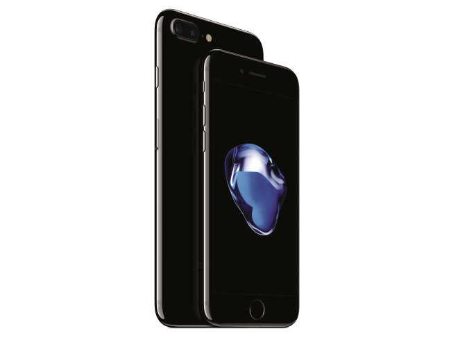 "Apple iPhone 7 and 7 Plus ""Jet Black"" edition"