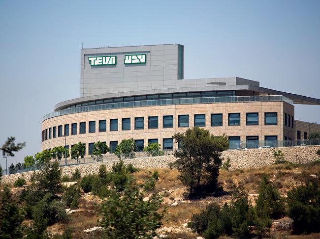 Teva's factory in Jerusalem