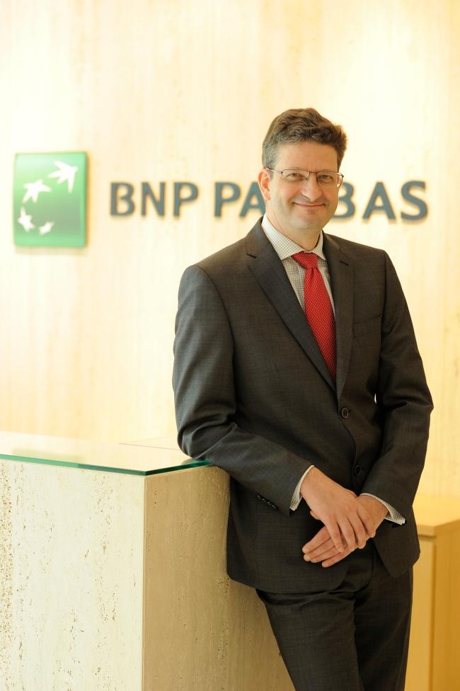 Philippe Noirot at BNP Paribas' Seoul office (BNP Paribas)