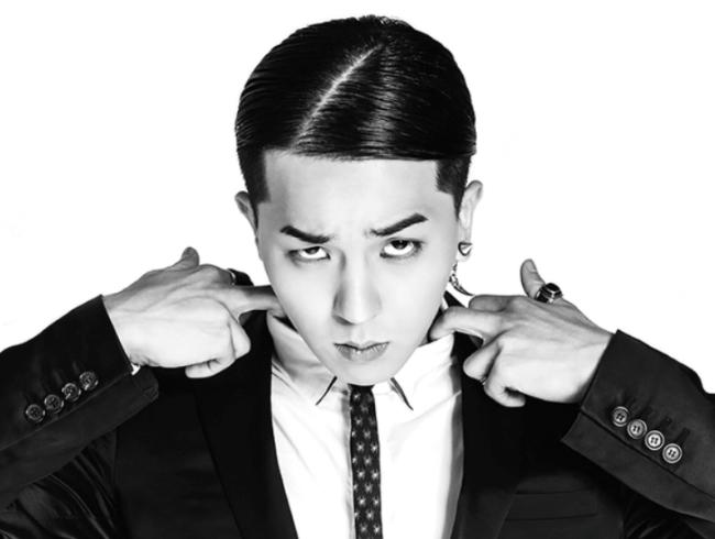 Rapper Mino of boy group Winner (YG Entertainment)