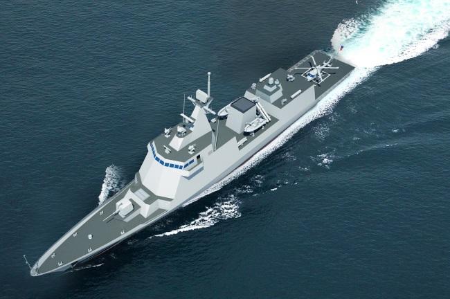 Hyundai Heavy Industries' 2,600-ton frigate (HHI)