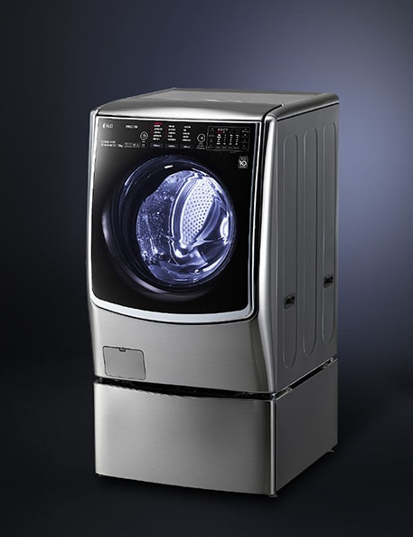 LG Electronics' steam washing machine