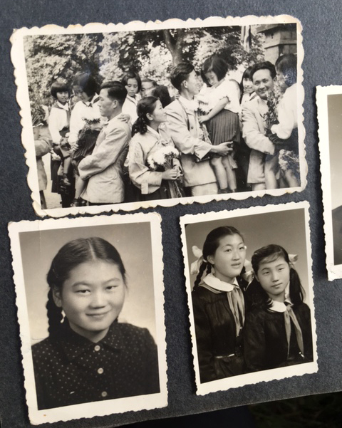 Pictures of North Korean orphans from the film (Chu Sang-mi)