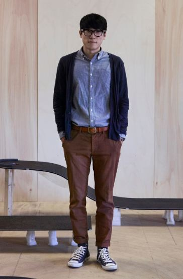 Furniture designer Kim Jin-sik, CEO of Studio Jinsik Kim (Brendan Austin-Herald Design Forum)