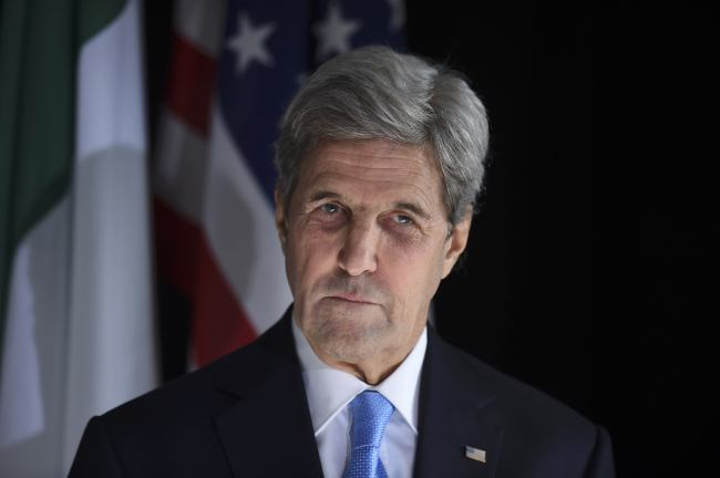 US Secretary of State John Kerry(Yonhap)