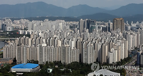 Apartments in Gangnam (Yonhap)