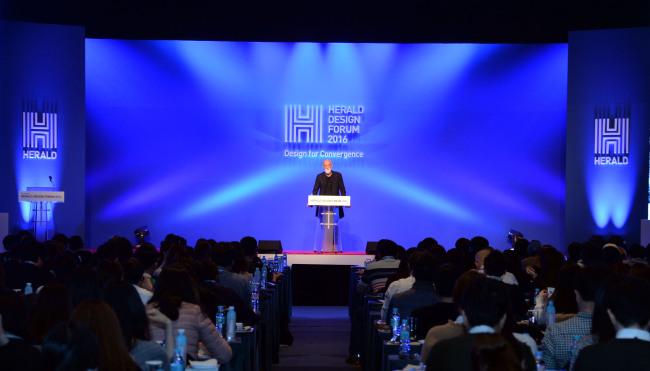 Ross Lovegrove (Park Hae-mook/The Korea Herald)
