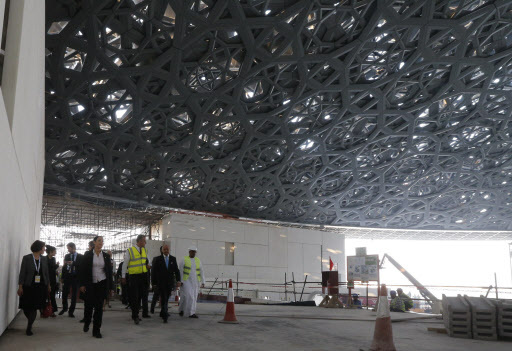 Italian us artists to create works for louvre abu dhabi - Construction of the louvre ...