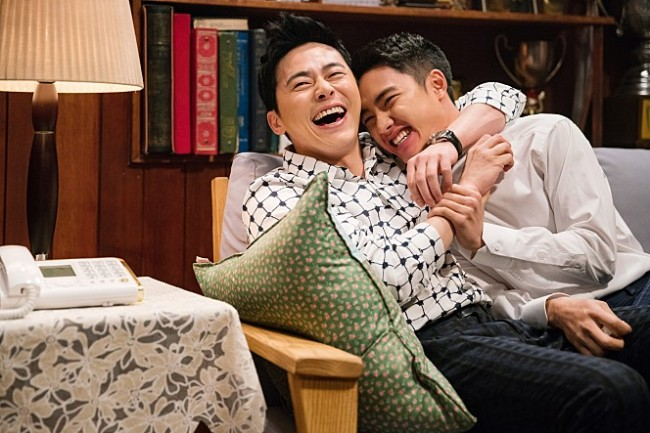 """A still from director Kwon Soo-kyung's latest comedy film """"My Annoying Brother"""" (CJ Entertainment)"""